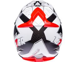 MX8 - Geotech Pure Carbon - Wei� - Rot