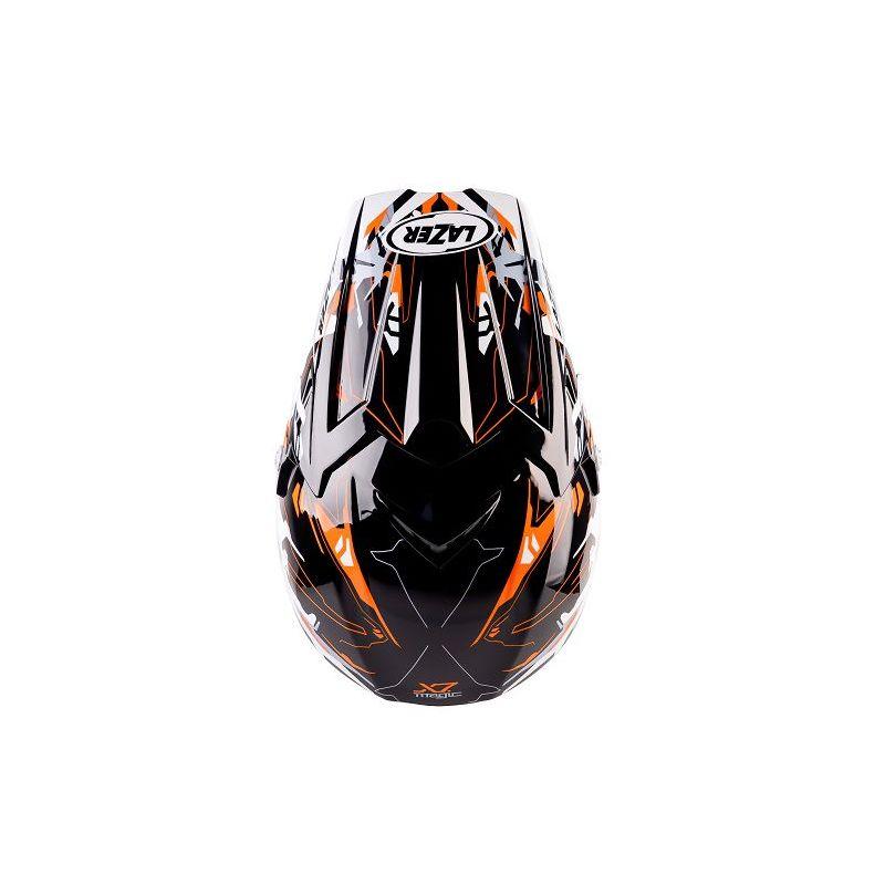 lazer x7 magic wei schwarz orange cima motorradbekleidung. Black Bedroom Furniture Sets. Home Design Ideas