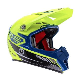 MX8 - Carbon Tech - Gelb Fluo - Blau