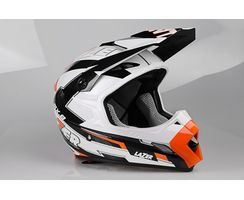 MX8 - Geotech Pure Carbon - Weiß - Orange
