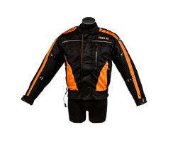 Air Bag Jacke orange