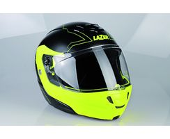 Monaco Evo - Droid Pure Glass - Black Matt - Yellow Fluo