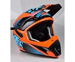 MX8 - Pure Carbon -  X-Team - orange-blau-matt