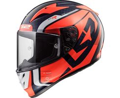LS2 FF323 Arrow fluo Orange Sting